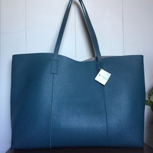 Macy's Pebbled Leather Tote Bag